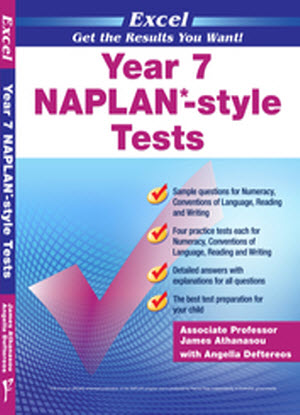 Excel Naplan* Style Tests:  Year 7
