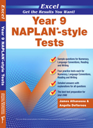 Excel Naplan* Style Tests: Year 9