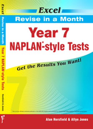 Excel Revise in a Month:  Year 7 - Naplan-Style Tests
