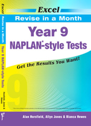 Excel Revise in a Month:  Year 9 - Naplan-Style Tests