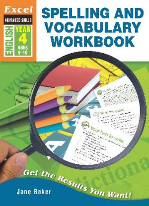 Excel Advanced Skills - Spelling and Vocabulary Workbook - Year 4