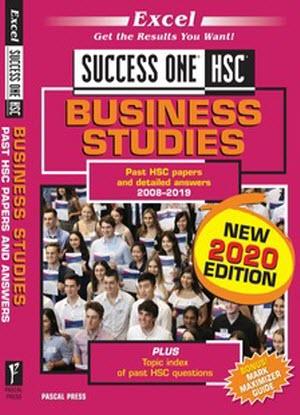 Success One:  HSC Business Studies - 2020