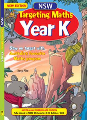 NSW Targeting Maths:   K - Student Book