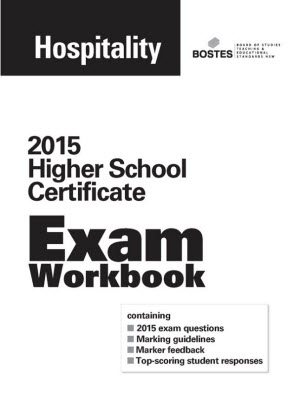 2015 HSC Exam Workbook:  Hospitality and Tourism, Travel and Events