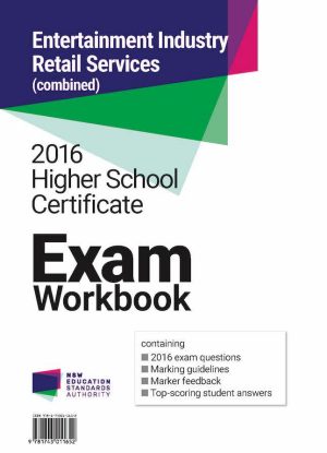 2016 HSC Exam Workbook:  Entertainment Industry and Retail Services