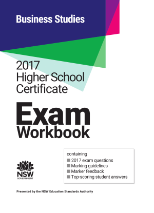 2017 HSC Exam Workbook:  Business Studies