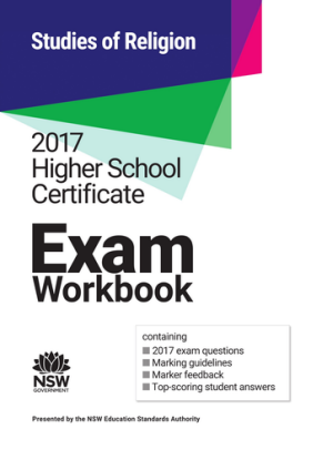 2017 HSC Exam Workbook:  Studies of Religion