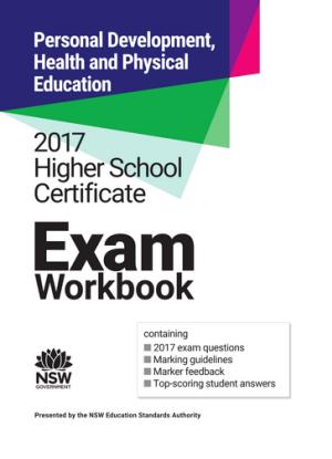 2017 HSC Exam Workbook:  PDHPE