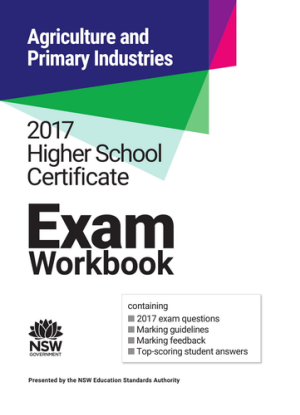 2017 HSC Exam Workbook:  Primary Industries and Agriculture