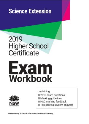 2019 HSC Exam Workbook:  Science Extension