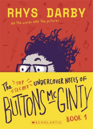 Buttons McGinty:  1 - Top Secret Undercover Notes of Buttons McGinty