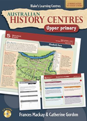 Australian History Centres:  Upper Primary + CD
