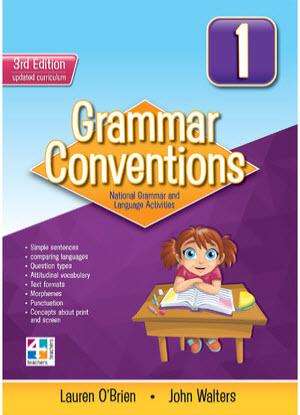 Grammar Conventions:  1 3rd edition