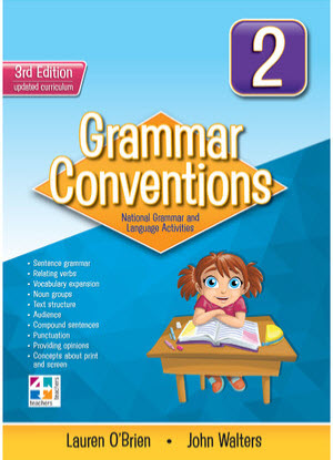 Grammar Conventions:  2 3rd edition