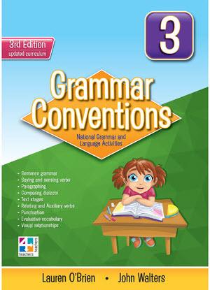Grammar Conventions:  3 3rd edition