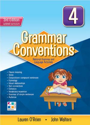 Grammar Conventions:  4 3rd edition
