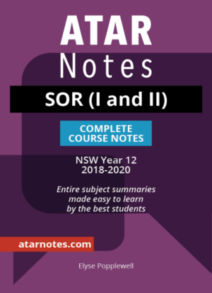 ATARNotes:  Studies of Religion (SOR I & II) - Complete Course Notes NSW Year 12 [2018-2020]