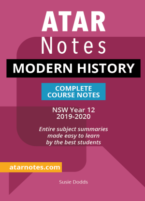ATARNotes:  Modern History - Complete Course Notes NSW Year 12 [2019-2020]