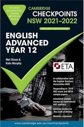 Cambridge Checkpoints:  NSW English Advanced - Year 12 (2021-2022)