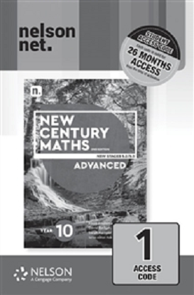 New Century Maths: 10 Advanced Stages 5.2/5.3  [NelsonNet Only]