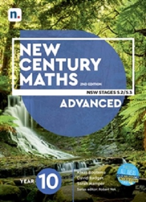 New Century Maths: 10 Advanced Stages 5.2/5.3  [Text + NelsonNet]