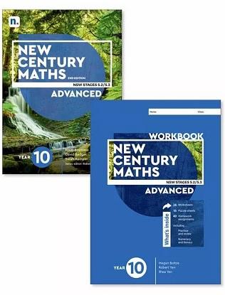 New Century Maths: 10 Advanced Stages 5.2/5.3  [Text, NelsonNet + Workbook]