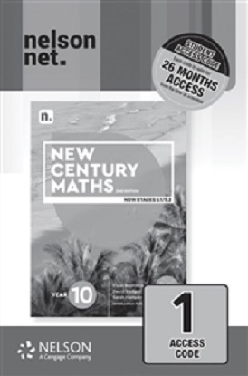 New Century Maths: 10 Stages 5.1/5.2  [NelsonNet Only]