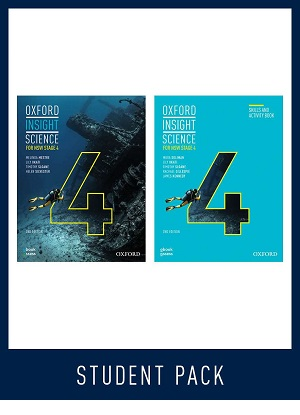 Oxford Insight Science NSW:  Stage 4 [Student Book + Workbook + oBook/assess]