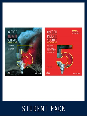 Oxford Insight Science NSW:  Stage 5 [Student Book + Workbook + oBook/assess]