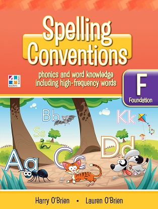 Spelling Conventions F Scrapbook 2nd edition