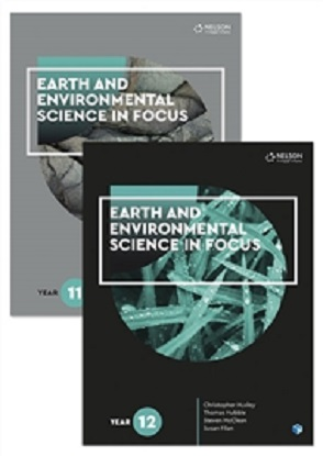 Earth and Environmental Science in Focus: Year 11 & 12 Student Book Pack with 2 x 26 month NelsonNet access