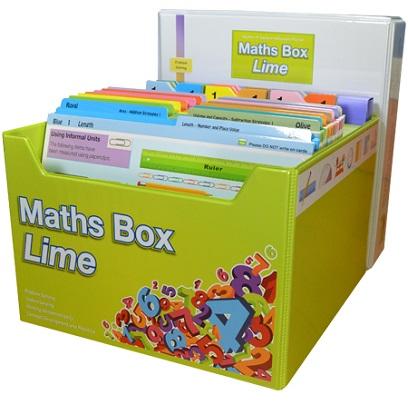 Maths Box Lime: Years 1-2/3