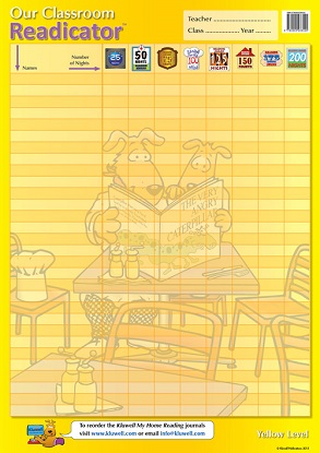 Our Classroom Readicator A2 Chart: Yellow