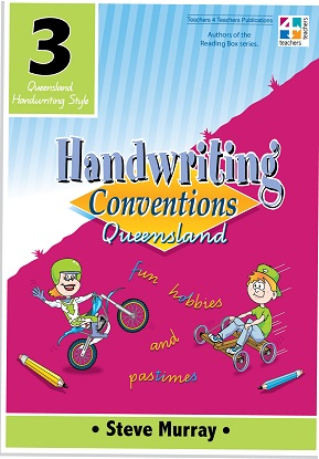 Handwriting Conventions Queensland 3