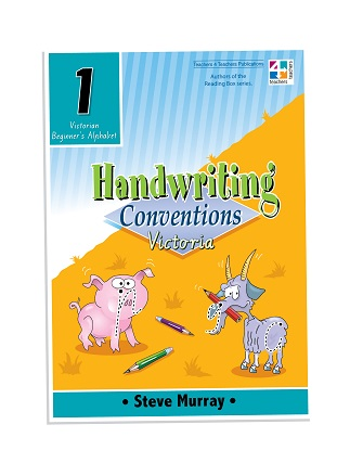 Handwriting Conventions Victoria 1