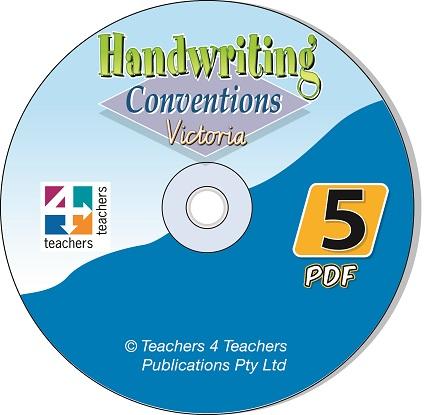 Handwriting-Conventions-Vic-5-CD-9780987127105