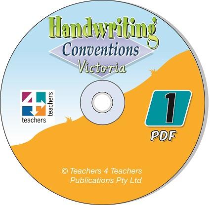 Handwriting-Conventions-Vic-1-CD-9780987127068