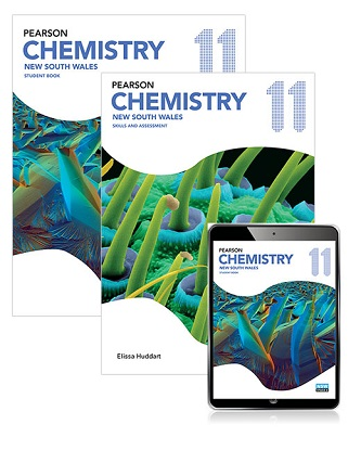 Pearson Chemistry 11 New South Wales Student Book, eBook and Skills & Assessment Book