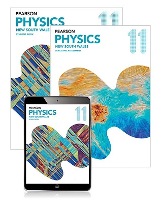 Pearson Physics 11 New South Wales Student Book, eBook and Skills & Assessment Book