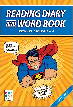 Reading-Diary-and-Word-Book-Years 3-to-6-9871925487367