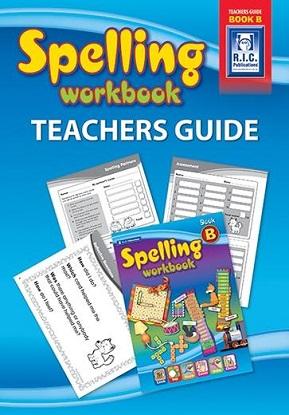 Spelling Workbook Teachers Guide Book B