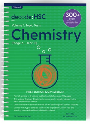 Decode-HSC-Chemistry-Volume-1-Topic-Tests-9781922445087