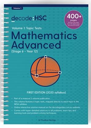 Decode-HSC-Maths-Advanced-Volume-1-Topic-Tests-9781922445117