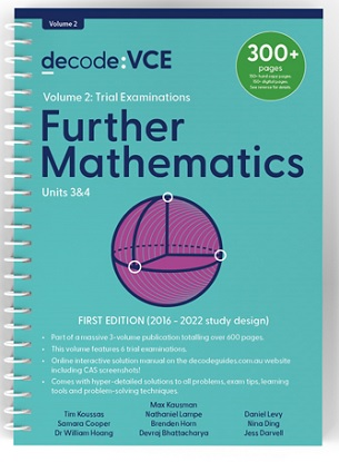 Decode-VCE-Further-Mathematics-Units-3and4-Volume-2-9781922445155