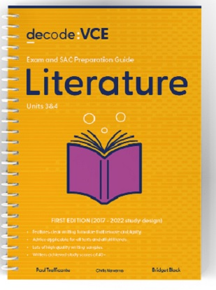 Decode-VCE-Literature-Units-3and4-9781922445049