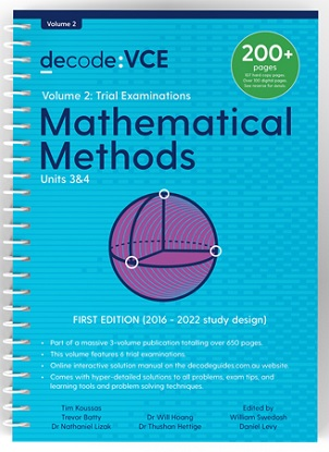 Decode-VCE-Mathematical-Methods-Units-3and4-Volume-2-Trial-Exams-9781922445131