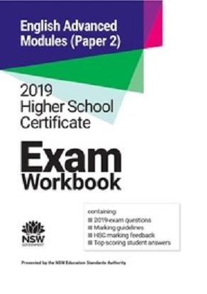 2019-hsc-exam-workbook-english-advanced-modules-paper-2-9781743012000