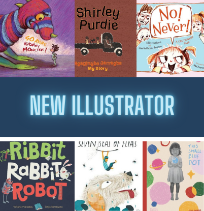 SET - CBCA Book of the Year: New Illustrator 2021