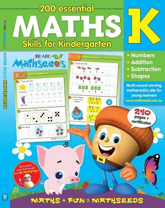 ABC Mathseeds Maths Skills for Kindergarten