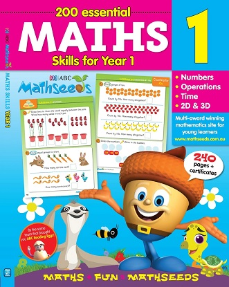 ABC Mathseeds Maths Skills for Year 1